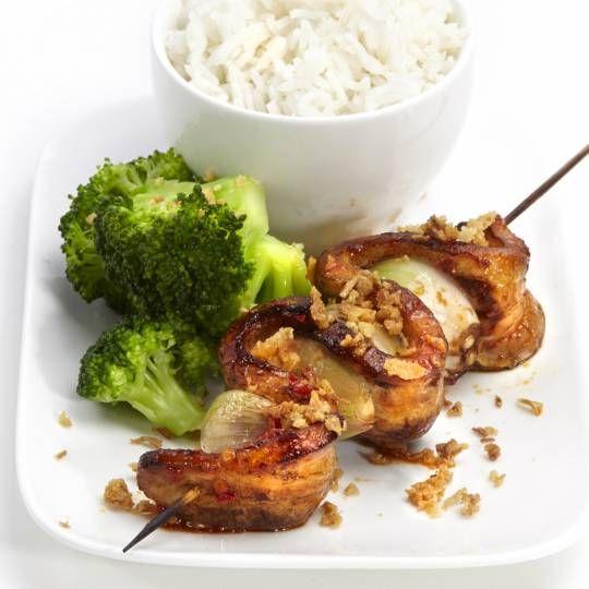 Recept - Spekspiesjes met rijst en broccoli - Boodschappenmagazine