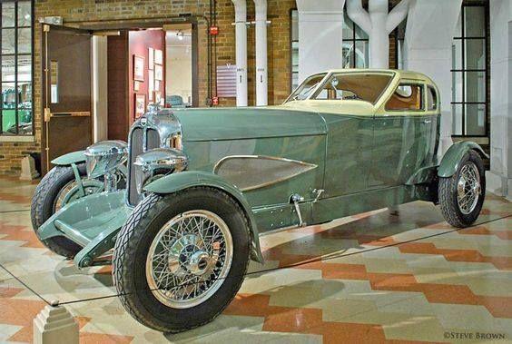 Auburn Speedster 1929 de cabina.