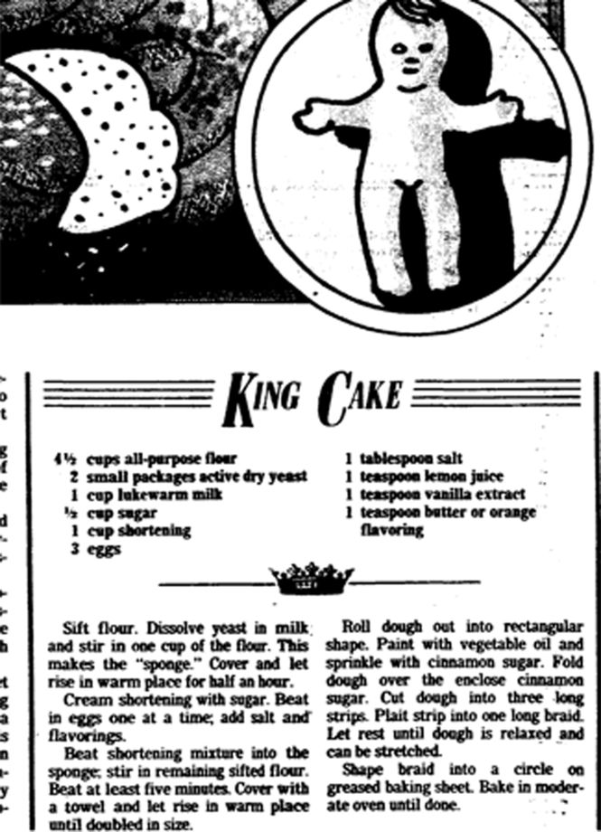 king cakes....always looking for a great king cake recipe