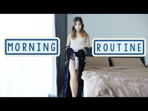 My Morning Routine in NEW APARTMENT featuring Aveeno Hair and Body Care Products! - YouTube