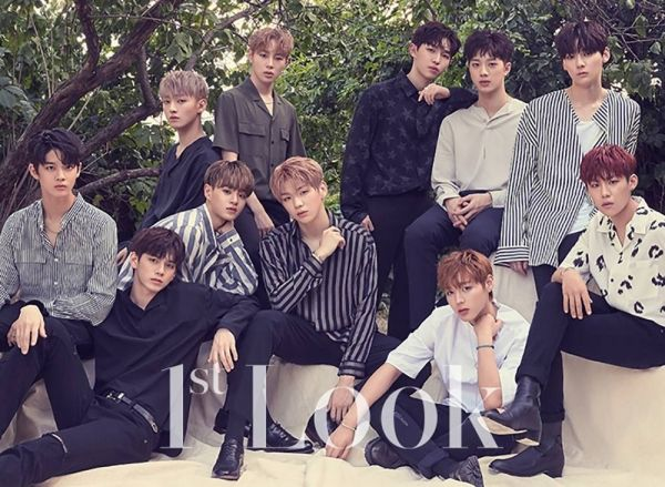 Wanna One center