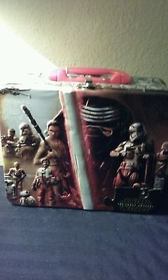 New STAR WARS : Collectible Puzzle/Tin Lunch Box The Force Awakens