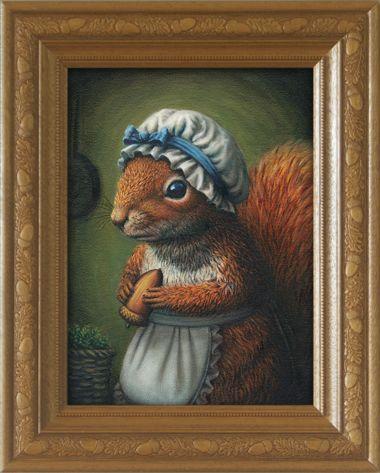 Mrs. Squirrel's famous Acorn Casserole by Rieko Woodford-Robinson