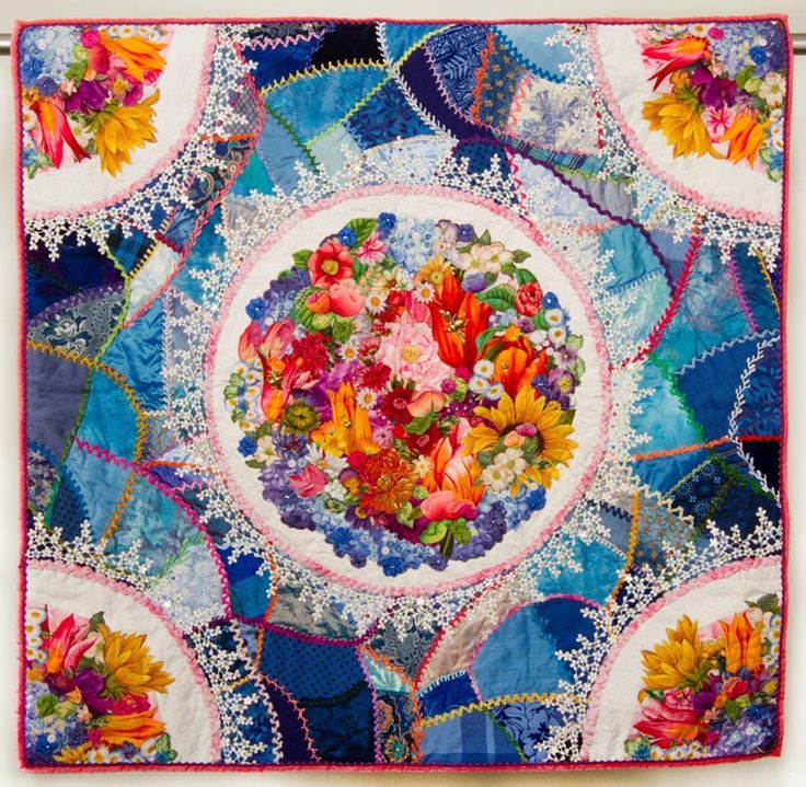 crazy quilting | What aspect of crazy quilting are you most drawn to, and why?