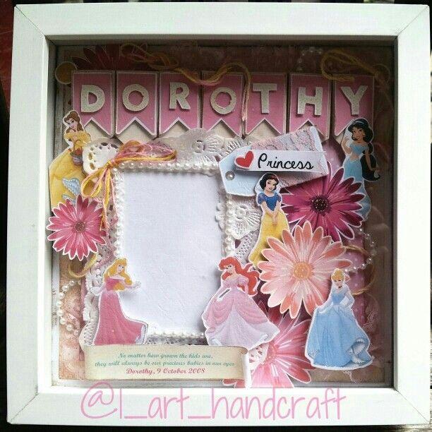 for you disney lover #scrapframe #scrap #gift #present #disney #princess