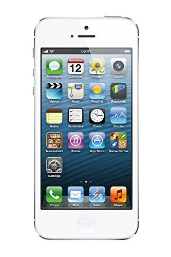 Apple iPhone 5 16GB - Unlocked - White (Certified Refurbished), 2016 Amazon Top Rated Unlocked Cell Phones  #Wireless