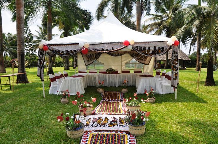 African Wedding Decor, African Theme Wedding