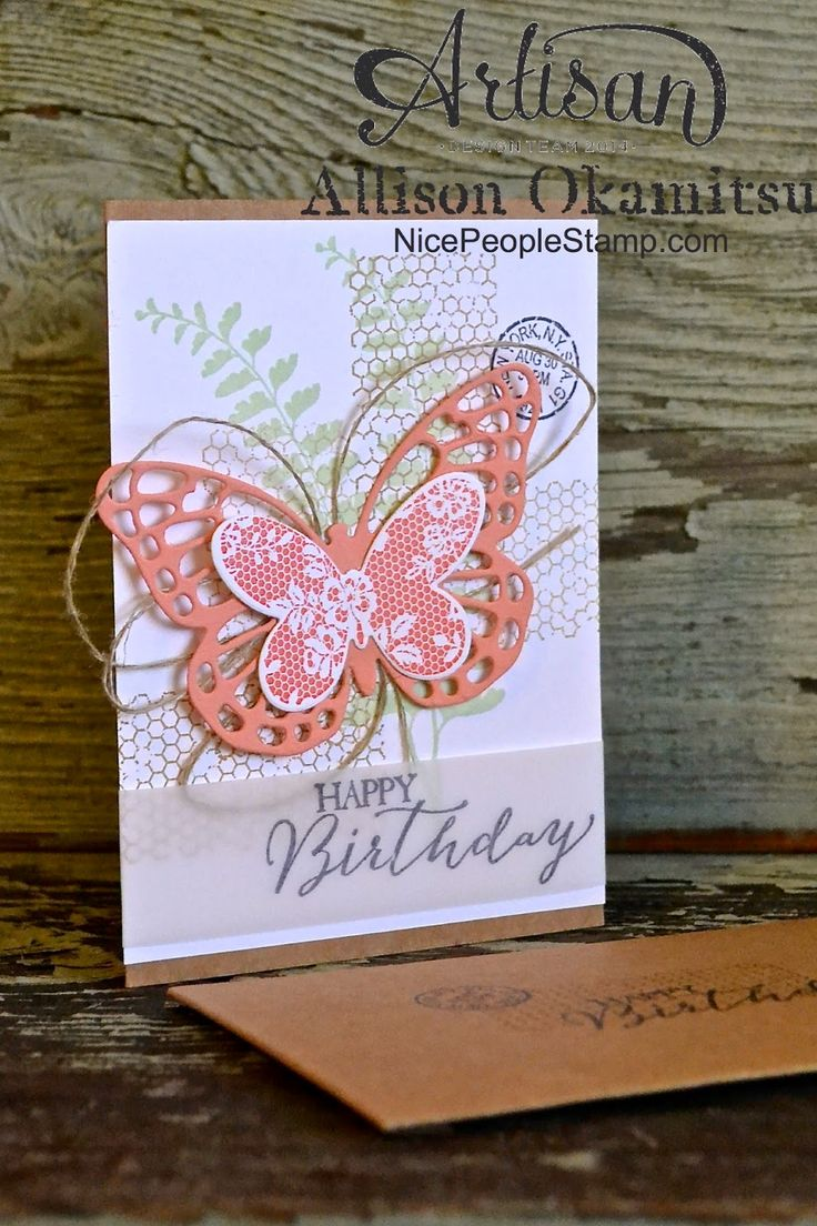 218 Best Images About Stampin Up Butterfly Basics On