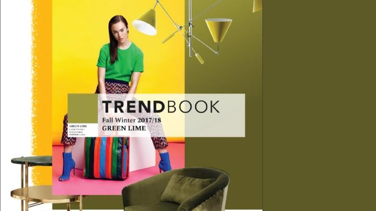 Trend Book Video: Color Trends 2018 Green Lime