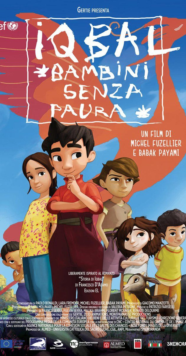 Iqbal, l'enfant qui n'avait pas peur (Italy | France, 2015 / English title: Iqbal, the fearless child) It looks like an animated adventure story for kids, but it's based on the true story of Iqbal Masih who escaped from illegal debt slavery in Pakistan and became a world activist against child labor and slavery, and in real life was assassinated before the age of 13. This is as upsetting and suspenseful as any political thriller.  3 stars