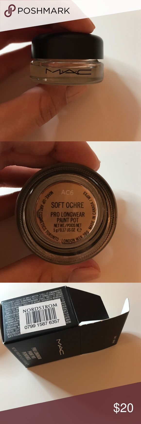 Mac paint pot soft ochre💕💕💕 Used once with a clean brush!! Authentic as seen in pictures!! MAC Cosmetics Makeup Eyeshadow