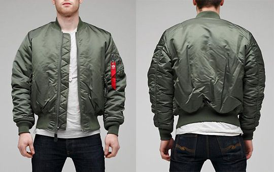 Alpha Industries Flight Jacket | flight jacket | Pinterest | Jackets