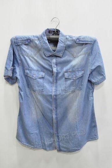 Koszula Męska Jeans H-502 Urus Kr.Rękaw  M-3XL