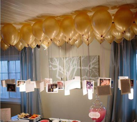 Have always loved this balloon chandelier !