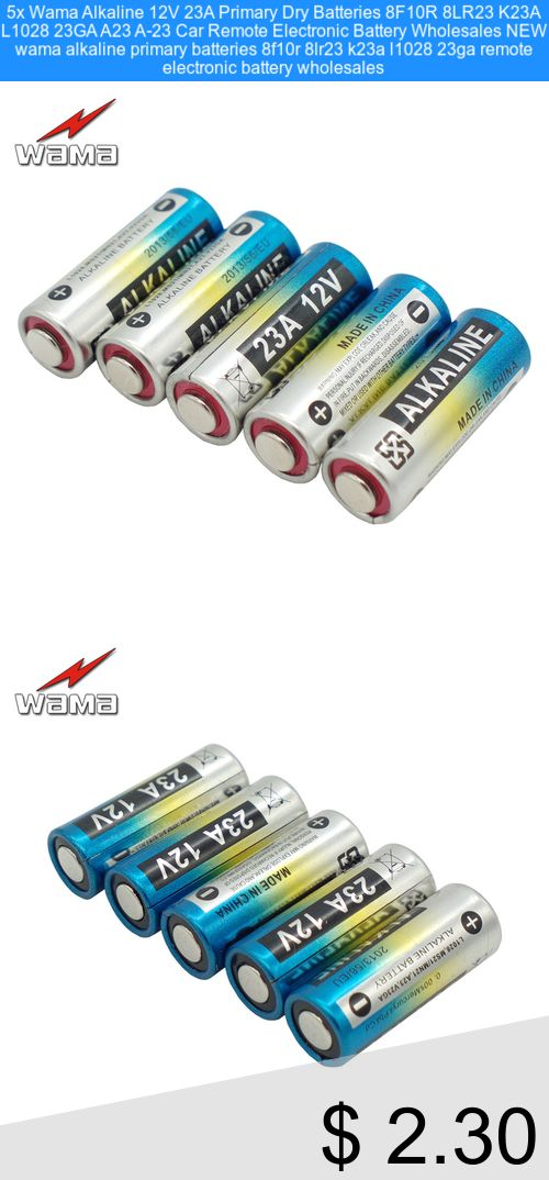 Only 2 30 5x Wama Alkaline 12v 23a Primary Dry Batteries 8f10r 8lr23 K23a L1028 23ga A23 A 23 Car Remote Electronic Battery Who Electronics Remote Batteries