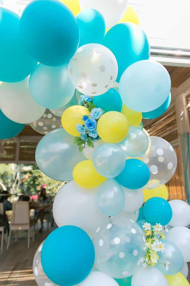 how to make a balloon pillar stand