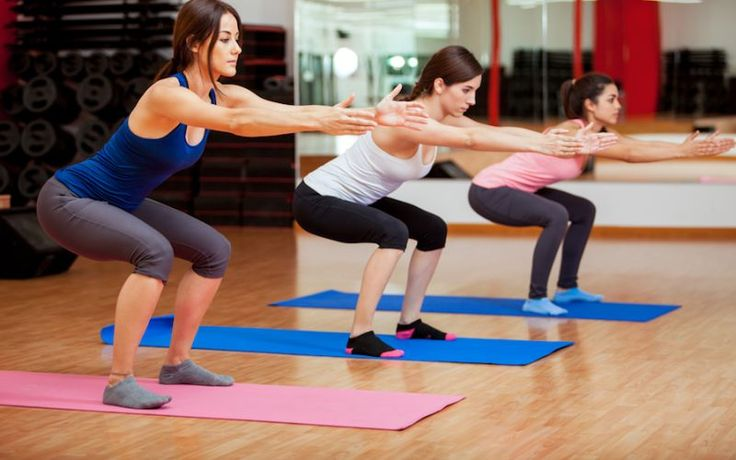 Squats are a mainstay in just about every program for trainers and athletes. The move has a variety of benefits for every {myname}, no matter where you are in your fitness endeavors. The strength, power, flexibility and balance that can be gained from squats should make this exercise a staple in any routine.