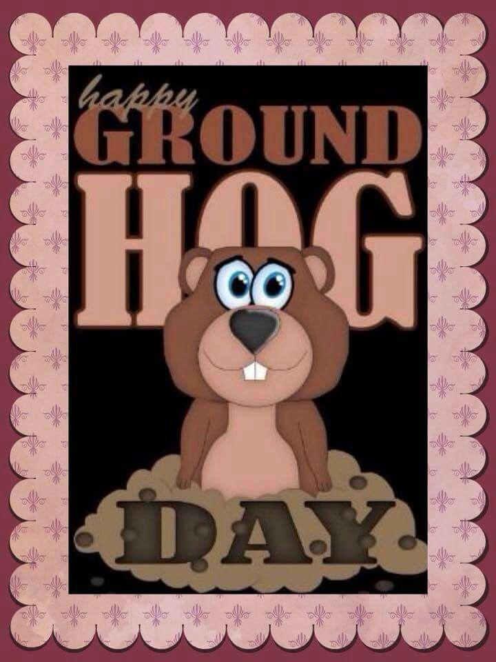 21 best ground hog day images on pinterest ground hog groundhog happy ground hog day happy groundhog dayground hogprintable cardsgreeting m4hsunfo