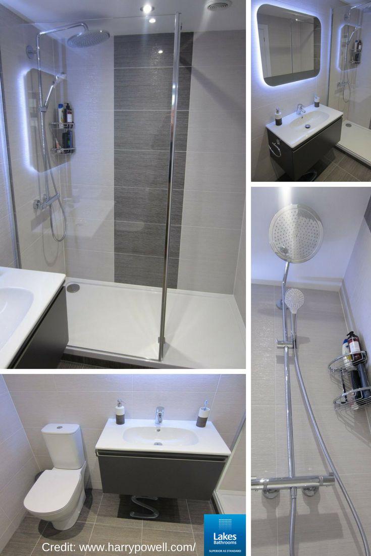 Love this bathroom refurbishment by Harry Powell (http://www.harrypowell.com/) featuring our Nice walk-in shower enclosure.  #bathroomremodel #bathroomideas
