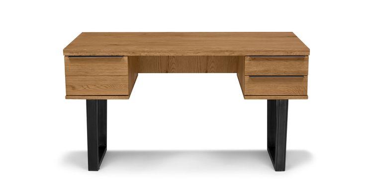 Taiga Oak Desk - Desks - Article   Modern, Mid-Century and Scandinavian Furniture