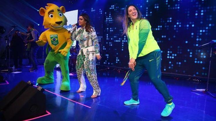 Judô nas Olimpíadas: Mayra Aguiar cai no funk e canta com Preta Gil em…