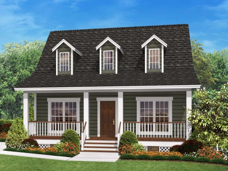 house plan 041 00026 great little country house plan with fabulous outdoor space framing