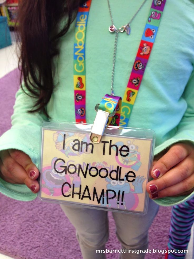 Love GoNoodle? Use it as a behavior incentive and make a GoNoodle CHAMP in your class! Click the picture to be taken to the blog with details!