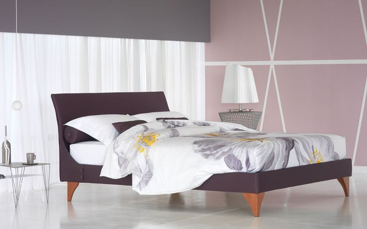 Meridiana http://www.flou.it/it/products/beds/meridiana_7 #flou #bed #beds #colors #spring