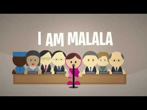 I am Malala - UN Speech - Video Animation - YouTube