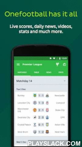 Onefootball - Pure Soccer!  Android App - playslack.com ,  ★★★ Awarded by Google as one of the Best Android Apps in 2015 ★★★Onefootball is the best app for soccer fans. Get all the latest soccer news, live scores, results, highlights and more from the Premier League, Major League, Soccer Champions League and all international competitions.EVERY MATCH, EVERY GOALGet close to the action with Onefootball's minute-by-minute live commentary – written by experts and with super fast push…