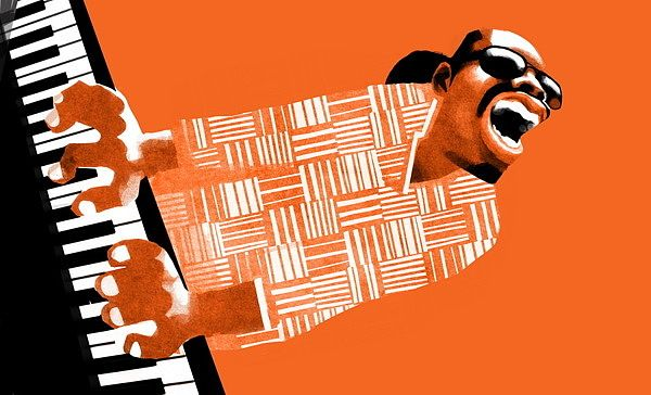 Stevie Wonder by Victor Melamed
