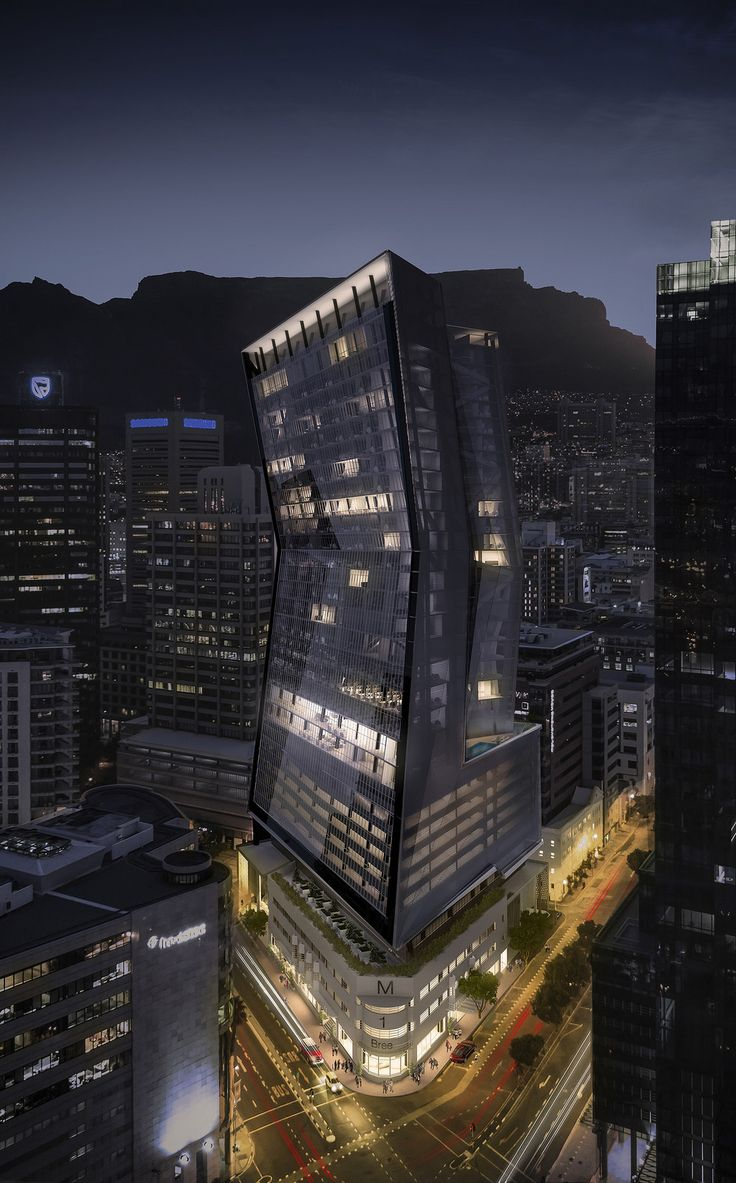 The Modern by Paragon Architects | Location: Cape Town CBD (city block of Bree, Hans Strijdom, Loop & Mechau streets) | Type: Mixed use with hotel | Developer: Ingenuity Property Investments | Investment: R650m