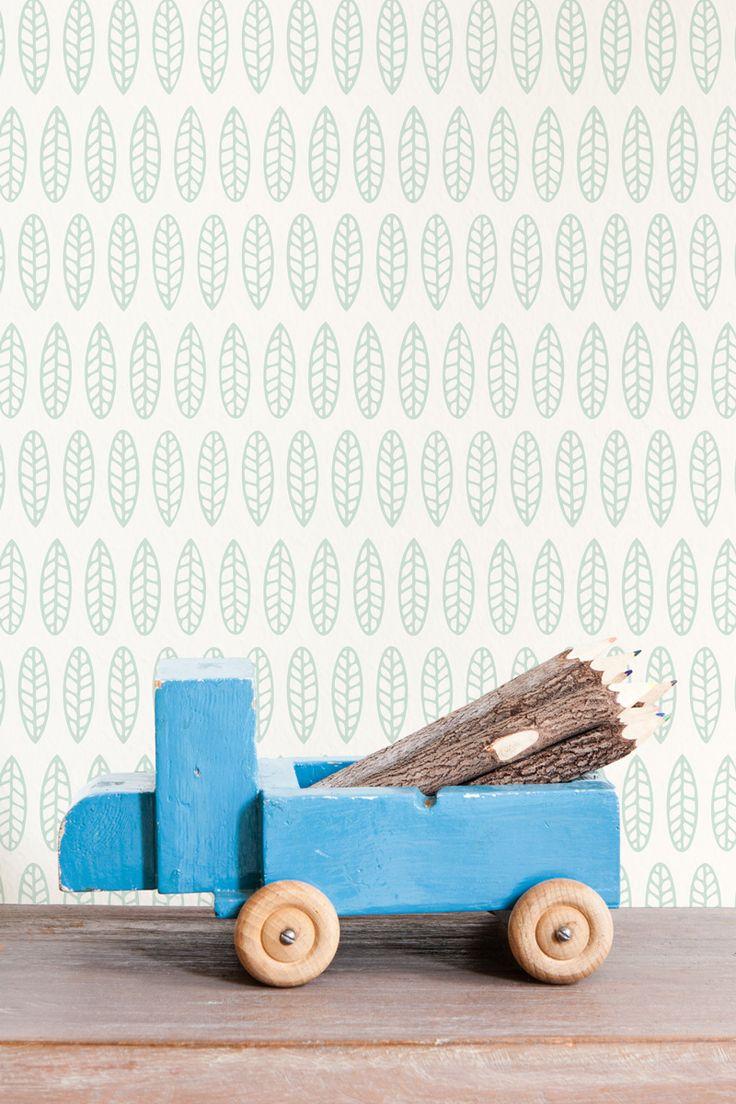 Green Wallpaper / Groen Behang collectie Studio Ditte - BN Wallcoverings