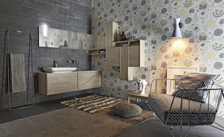 Bagno Free con finitura pino naturale http://www.cerasa.it/it_IT/bagni/design/free/arredare-bagni-free-24-25