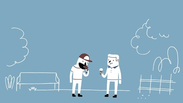A short animation I made for The School of Life.  About Friendship & Vulnerability a la bromance.