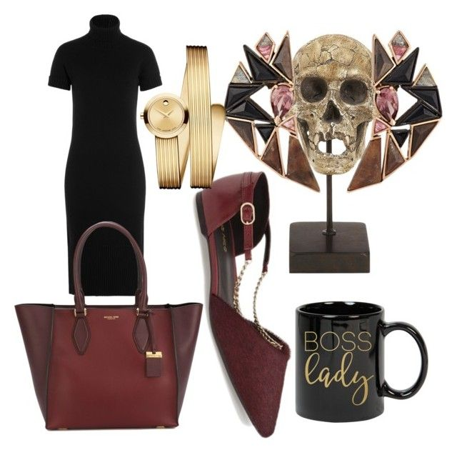 """""""Simple and classy"""" by oana-grigorie on Polyvore featuring Klub Nico, Dot & Bo, Nak Armstrong, Michael Kors and Movado"""