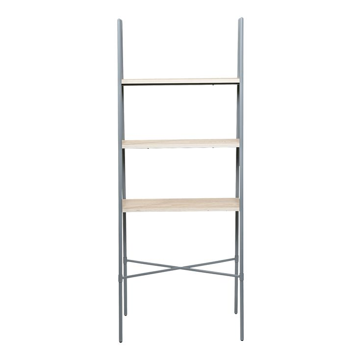 The Shelf by Bloomingville boasts a top finish in grey and a frame finish in grey. This beautiful design is the perfect compliment to a contemporary living room.