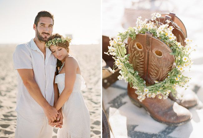 Digging this farewell to summer Bohemian shoot on the beach