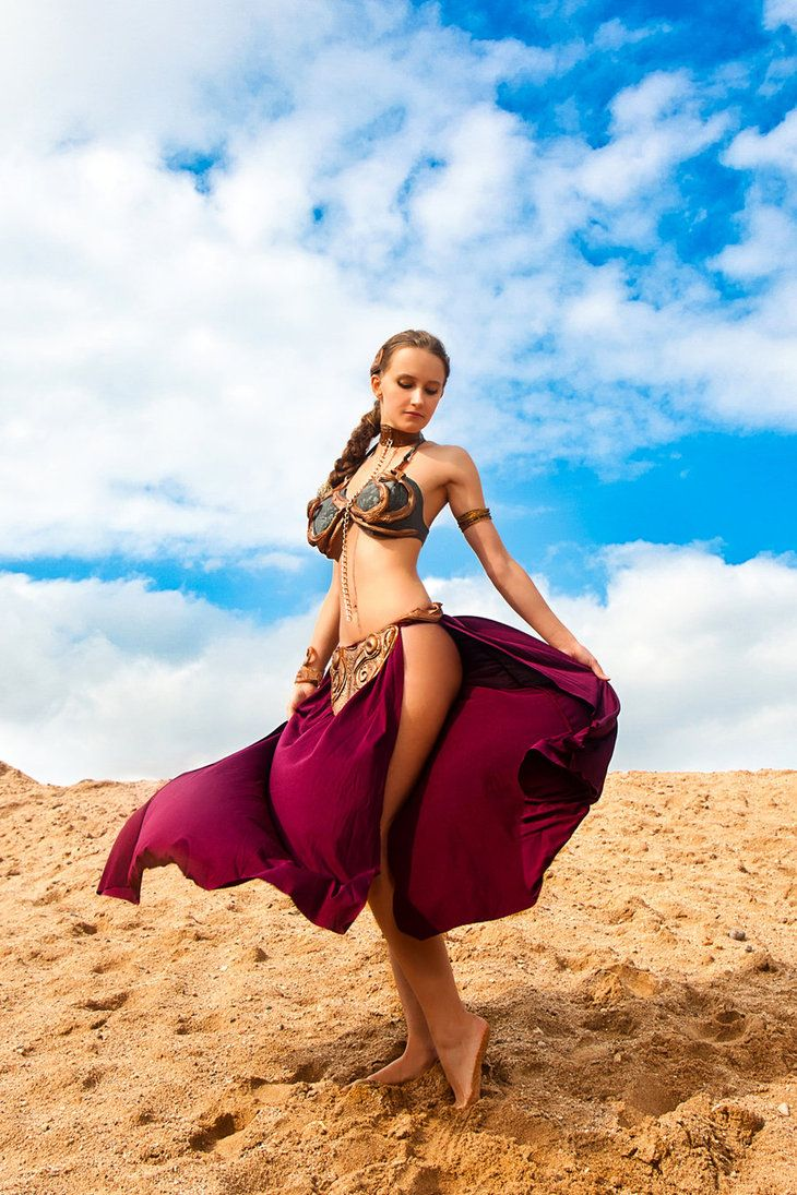 Will your princess leia slave cosplay happiness has