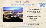 International Wine Traders Marche #B2B #Workshop #wine #export