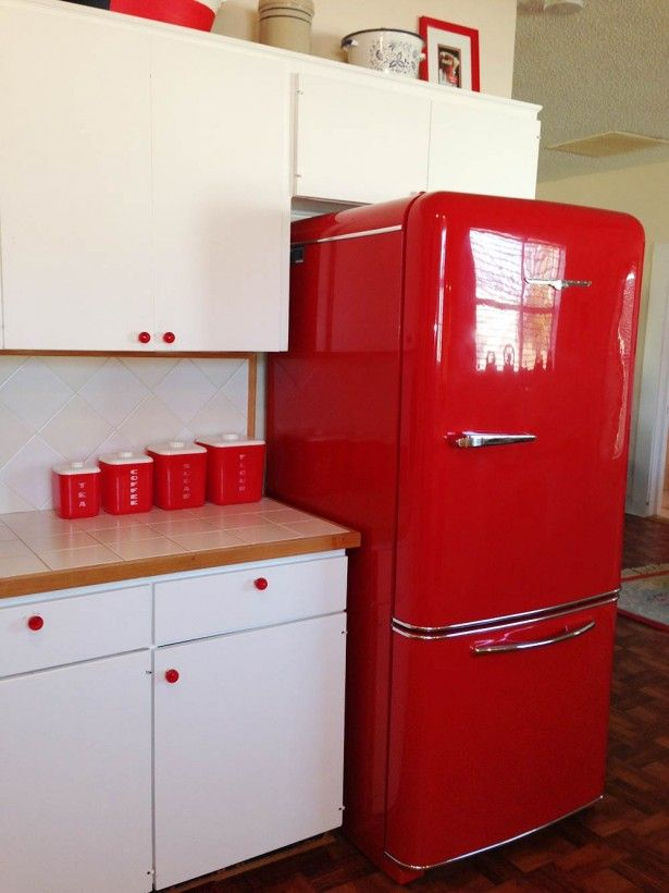 17 Best Ideas About Retro Refrigerator On Pinterest
