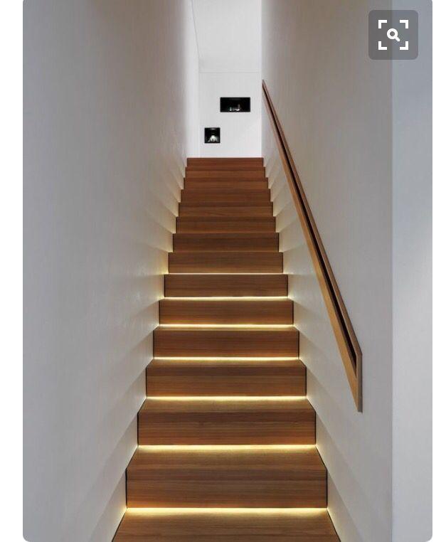 Recessed handrail