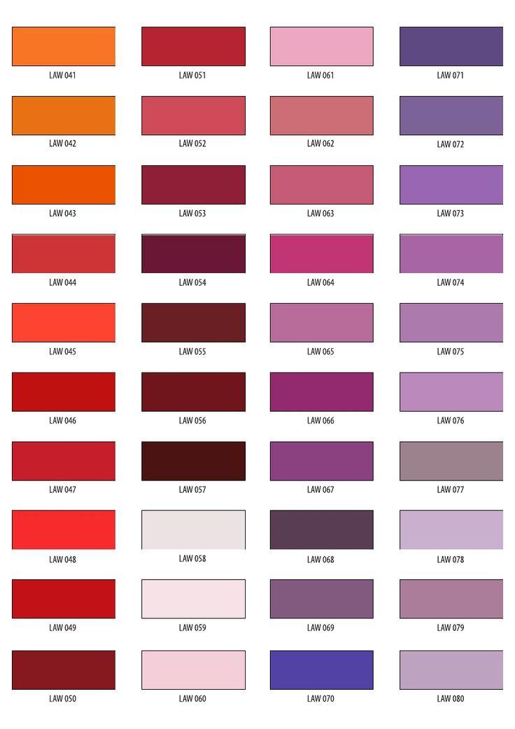 wybrane kolory z wzornik w ral ncs ica wzornik. Black Bedroom Furniture Sets. Home Design Ideas