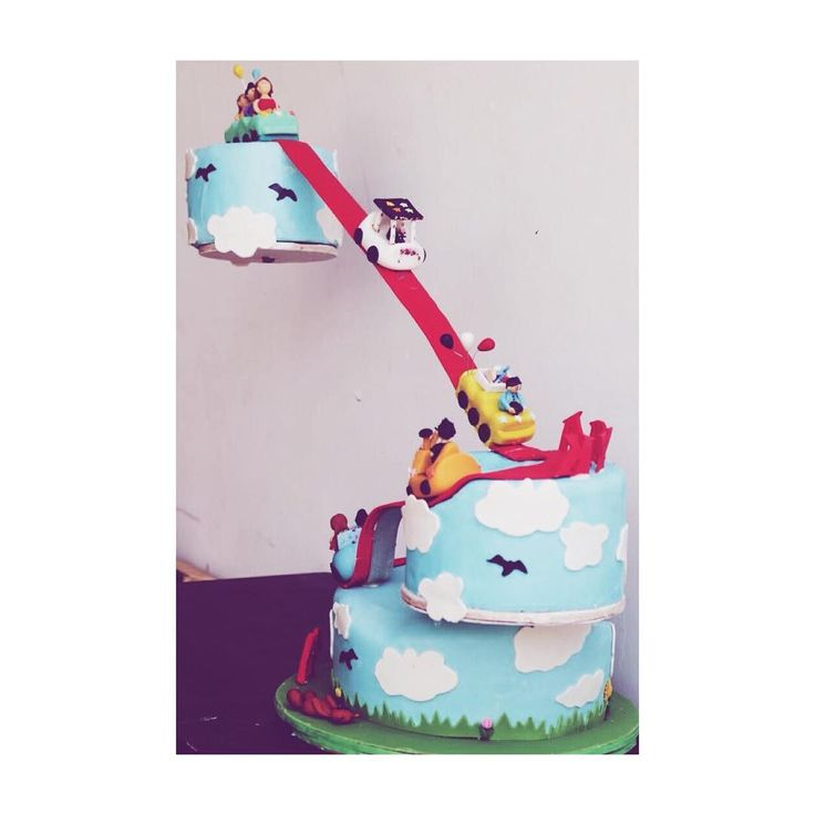Here's a full view of our roller coaster cake, made to turn a special boy's birthday party into a rather amusing one. . . #cakedecorating #cakedindia #rollercoastercake #themecakes #amusementparkcake #foodbloggers #celebratinglove #specialcakeseries #technologyandfood #fondant #designedcaketable #bakerslife #foodtalkindia #yahoofood #sugar #sweettooth #birthday #getcaked #vsco #vscoindia #indianfoodbloggers  #delhifoodie #foodbloggers #weddingphotography #weddinginspiration #weddingplanner…