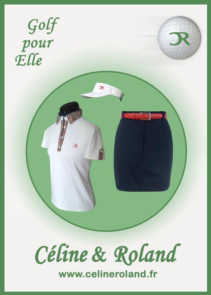 Déjà le mois de mars ! Soyez prêtes sur le green pour  les beaux jours avec Céline & Roland ! Visitez le site et découvrez les tenues printanières : www.celineroland.fr
