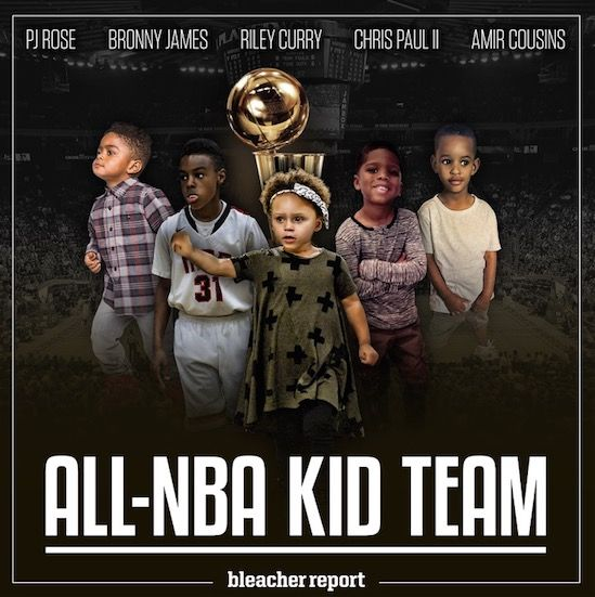 Scouting Reports for Riley Curry and the All-NBA Kid Team   Bleacher Report
