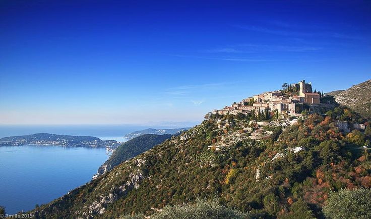 """Eze covers a steep area encompassing all three corniches from Eze-sur-Mer on the shores of the mediterranean to the picturesque medieval village perched on a rocky ridge. The German philosopher Nietzsche fell in love with the Riviera here calling it a """"French paradise"""". #eze #villefranche #beaulieu #capferrat #hermitageriviera #realestate #realty #luxuryproperty #luxuryrealestate #frenchriviera #riviera #cotedazur #mediterranean #monaco #montecarlo #propertyforrental #propertyforsale…"""