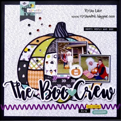Vivian's Desk: The Boo Crew