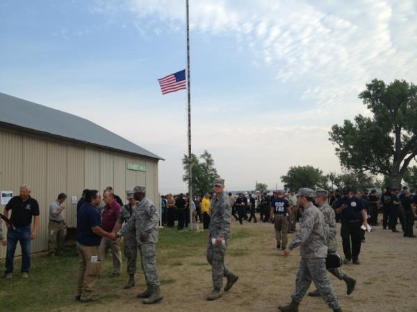 memorial day half mast