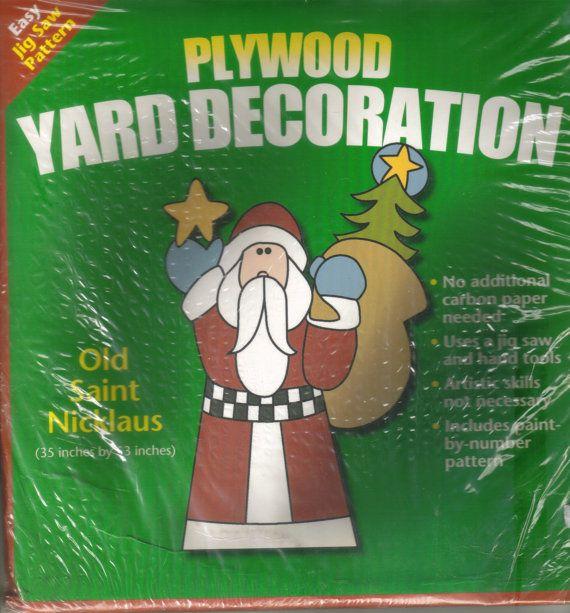 Christmas Decorations Yard Patterns
